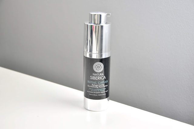 serum natura siberica royal caviar beluga caviar revitalizing face serum