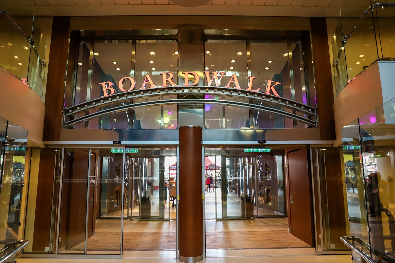 Boardwalk | Oasis of the Seas Couple's Review