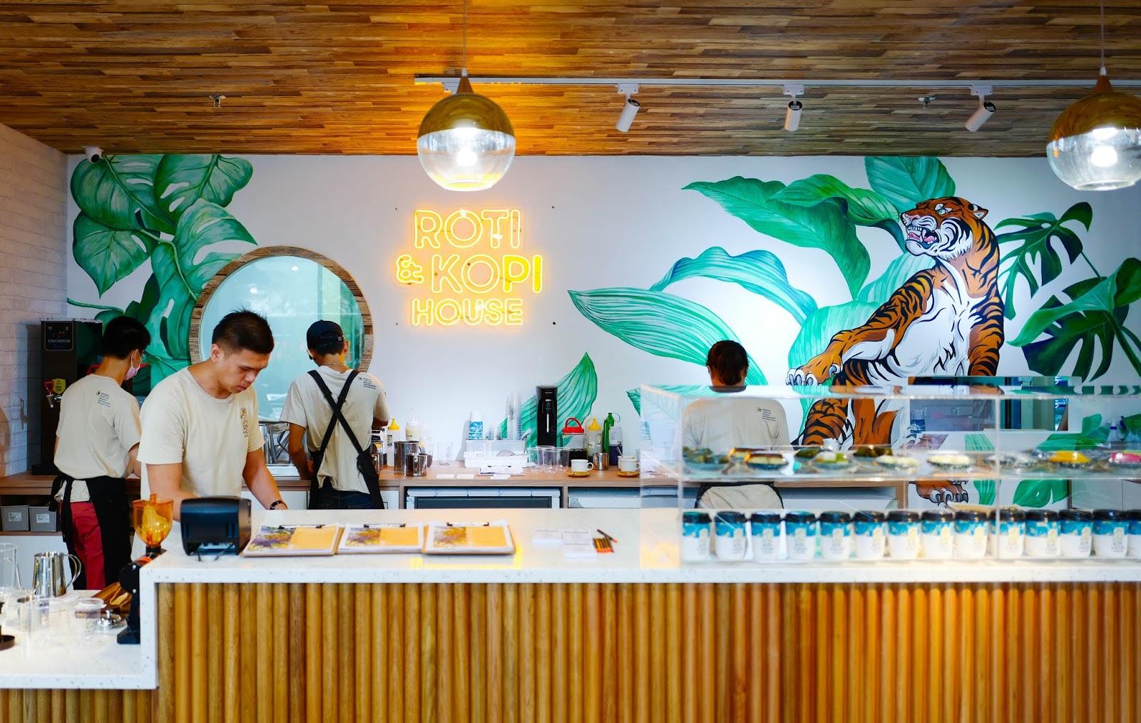 roti & kopi house, damansara uptown