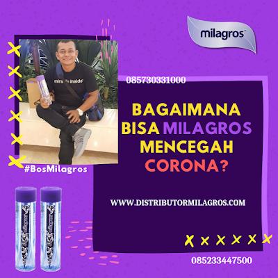 Bagaimana milagros bisa mencegah corona
