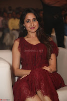 Pragya Jaiswal in Stunnign Deep neck Designer Maroon Dress at Nakshatram music launch ~ CelebesNext Celebrities Galleries 131.JPG