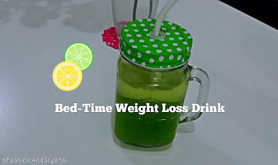 Bed-Time Weight-Loss Drink