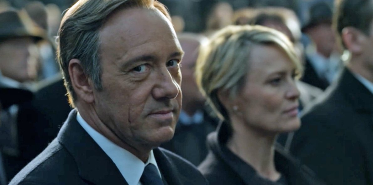 Kevin Spacey y Robin Wright en 'House of Cards'