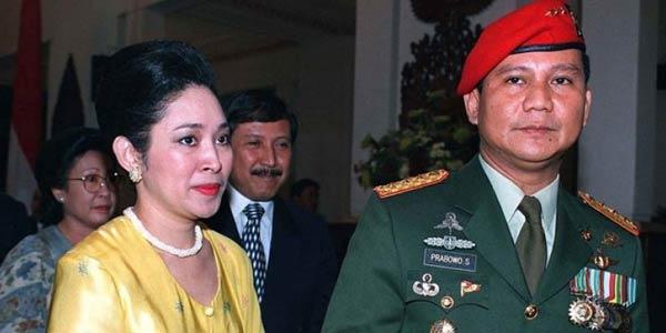 Kisah Haru, Air Mata Titiek Saat Prabowo Berperang