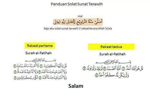 Jom Solat Terawih! Bulan Ramadan Ni Je Masanya, Jangan Lepaskan Peluang Terbaik Ni.