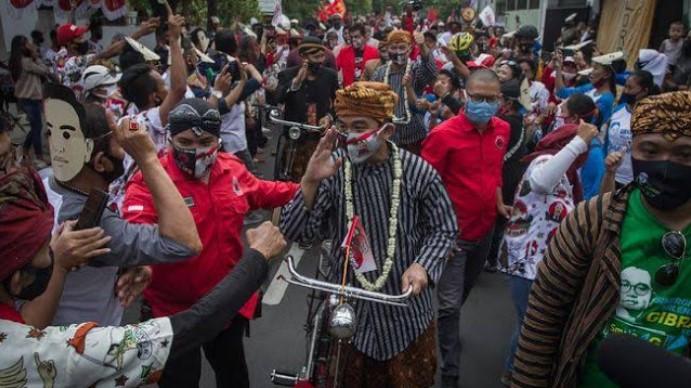 FPI Tanggapi Mahfud: Acara Gibran di Solo Tak Jaga Jarak, Kenapa Hanya HRS yang Dipermasalahkan?