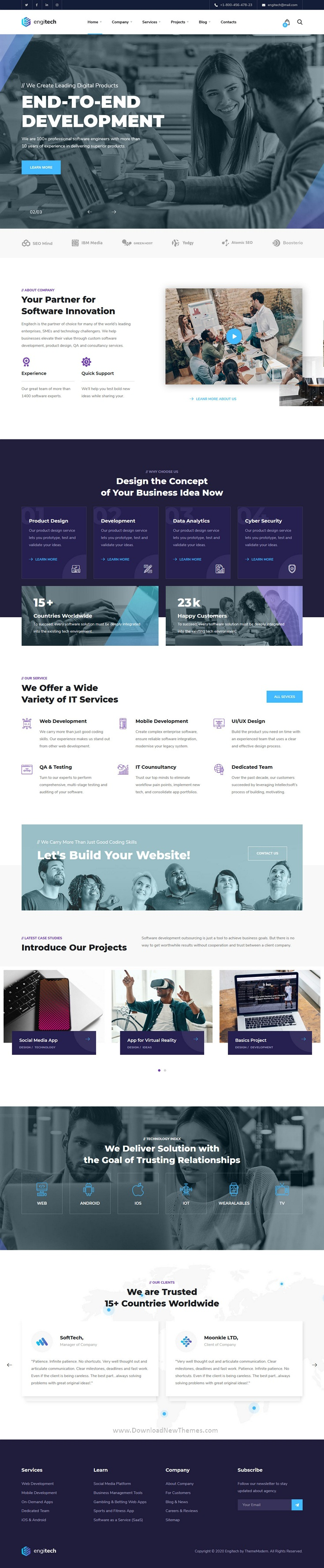 IT Solutions & Services Template