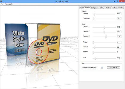 Screenshot Jellypie 3D Box Shot Pro 4.4 Full Version