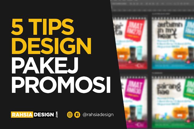 5 Tips Design Pakej Promosi Produk