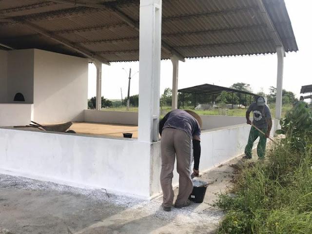 Parque em Batalha recebe obras de melhoria para 37ª Expo Bacia