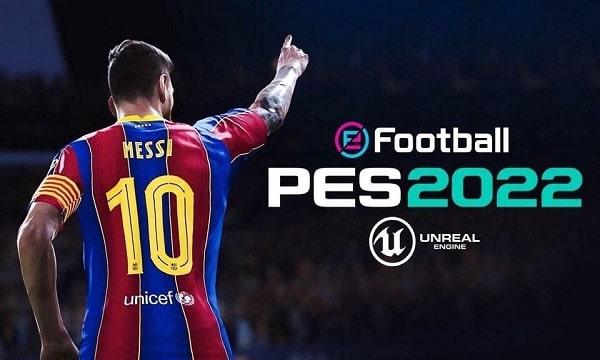 النسخة التجريبية من لعبة بيس 2022 eFootball PES