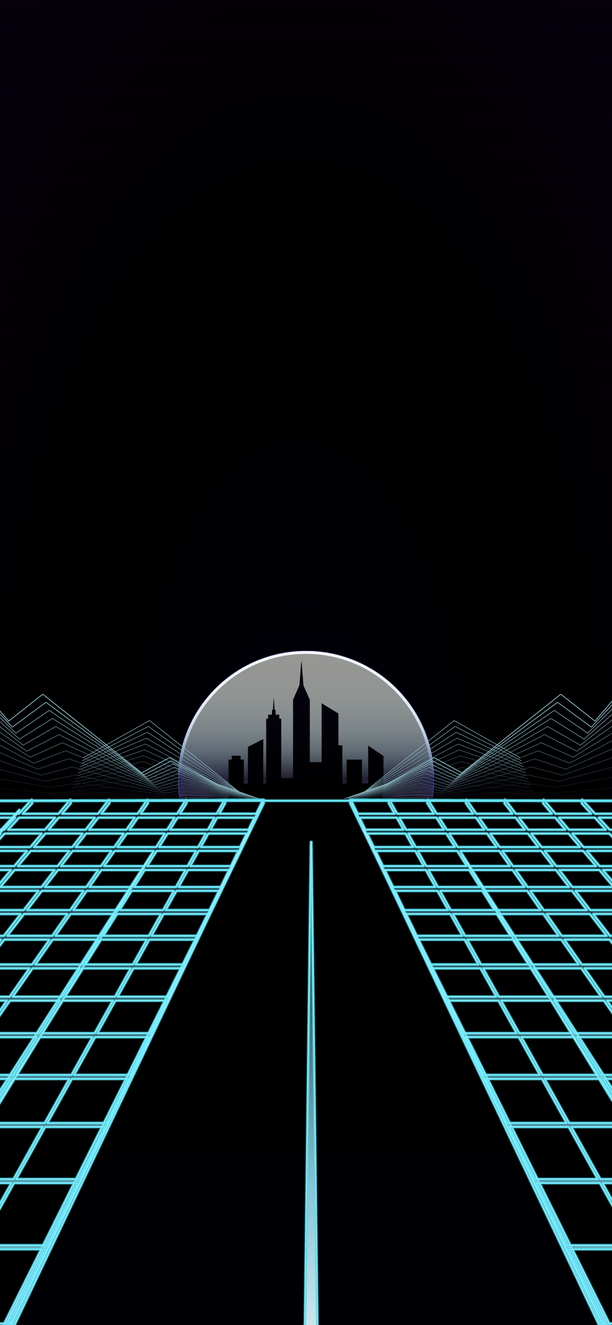 COOL RETRO WAVE OUTRUN WALLPAPER HD FOR MOBILE PHONE