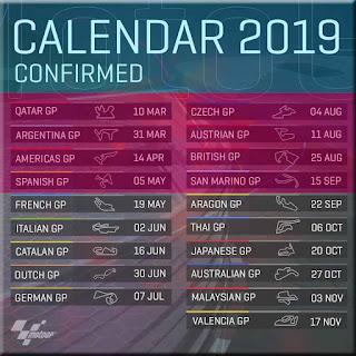 Jadwal MotoGP hari ini - Jadwal MotoGP 2019