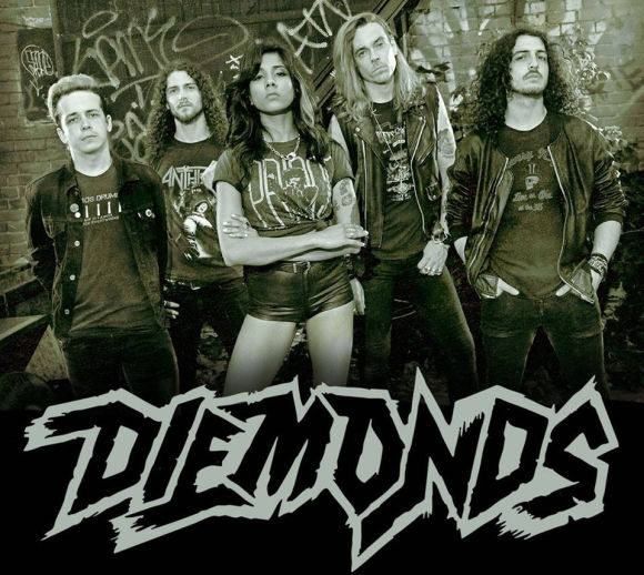 DIEMONDS - Diemonds (2018) inside