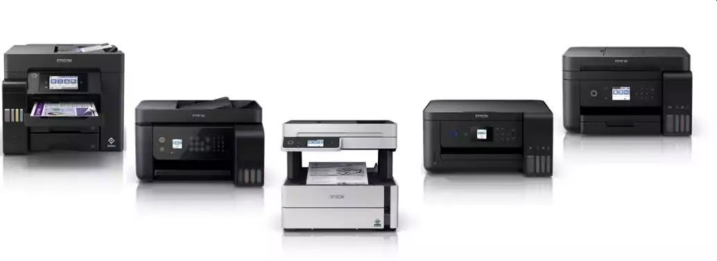 High-capacity ink tank inkjet printers