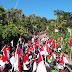 Semarak Kirab Merah Putih Warga   Gunungwungkal