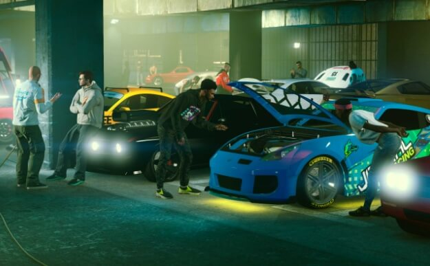 GTA Online for PS5 and XSX / S will have faster vehicles as exclusive content