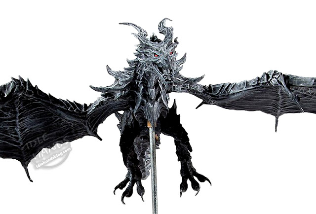 Toy Fair 2020 McFarlane Toys Elder Scrolls V: Skyrim Alduin Deluxe Box Action Figure