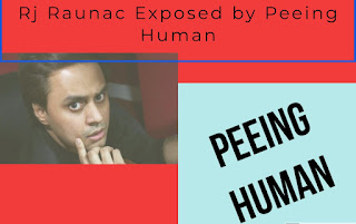 Rj Raunac on JNU | Exposed by Official Peeing Human , News ,