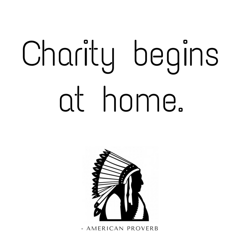 charity begins at home Charity begins at home definition at dictionarycom, a free online dictionary with pronunciation, synonyms and translation look it up now.