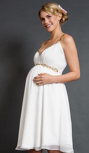 501fcf972 Los 10 mejores vestidos de novias para embarazadas