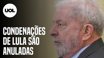 Lula tem condenações anuladas por Fachin: Dólar dispara e Bolsa despenca; veja reações
