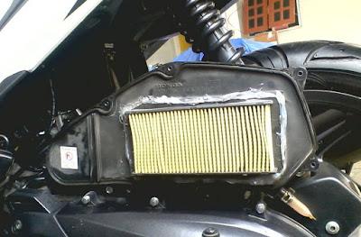 Hasil gambar untuk filter udara motor