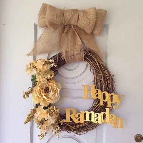 Dekorasi Ramadhan dari Lilitan Kayu