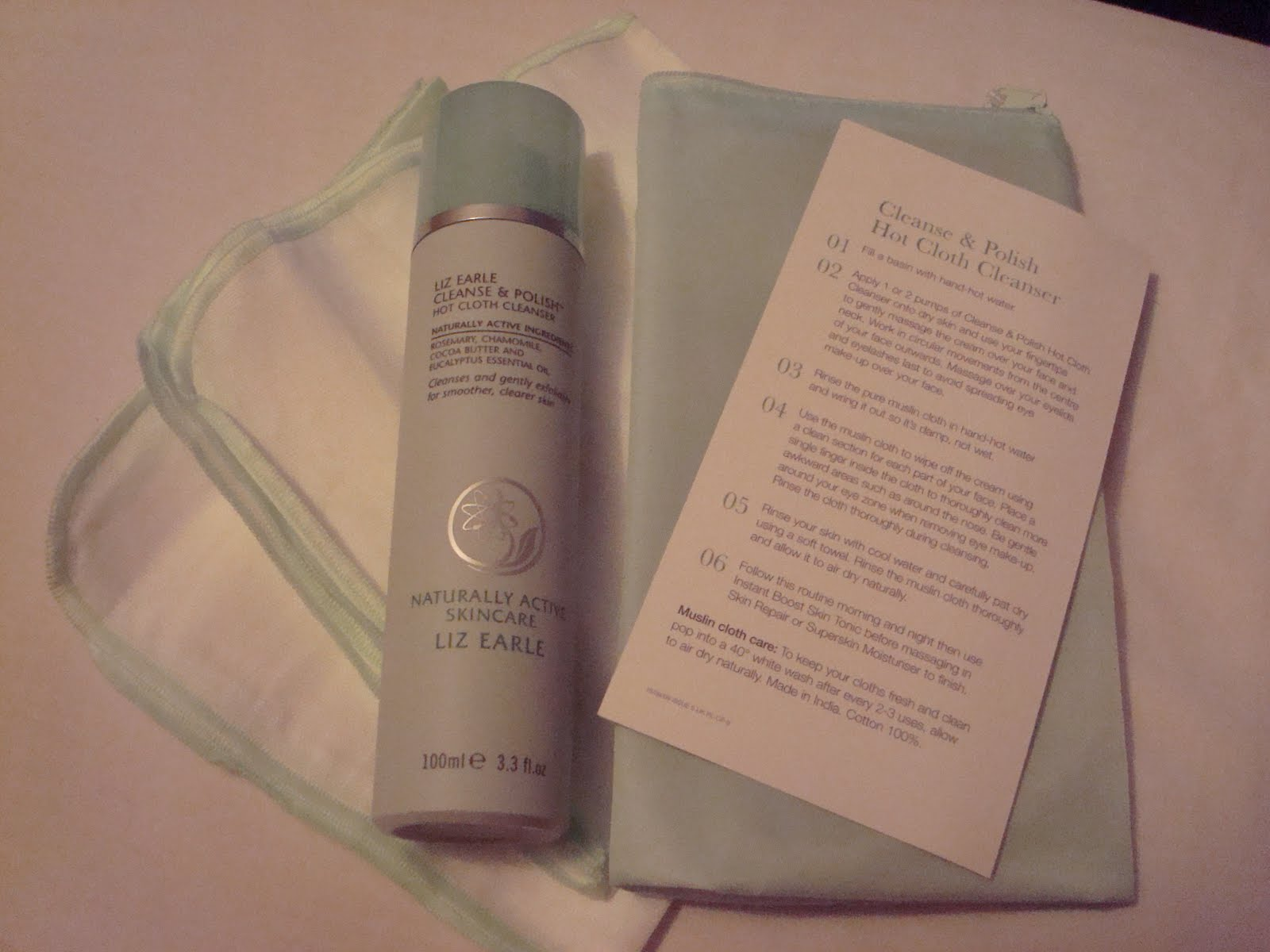 Liz Earle Cleanse And Polish Hot Cloth Cleanser Review