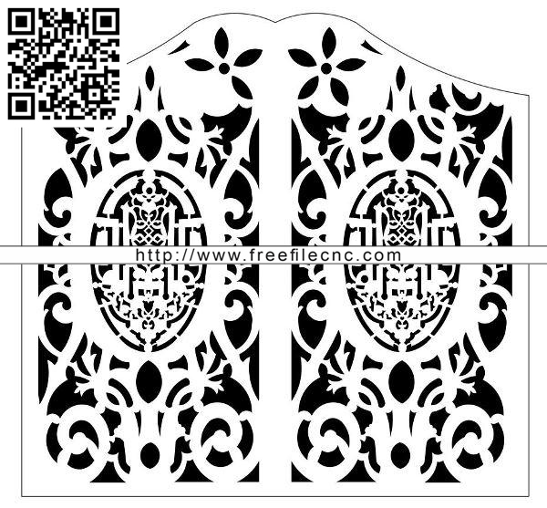 Design pattern panel screen E0009819 file cdr and dxf free vector download for Laser cut CNC