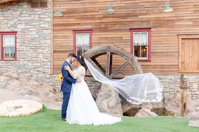 Shenandoah Mill Wedding Bride and Groom Portraits by Micah Carling Photography