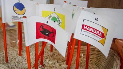 Survei Indikator Politik: Gerindra-PDIP-Golkar-PKS Jadi Pilihan Anak Muda