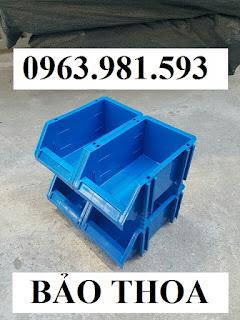 Khay nhựa đựng linh kiện có tắc kê chống tầng, kệ dụng cụ giá rẻ, khay linh kiện, khay đựng ốc vít.