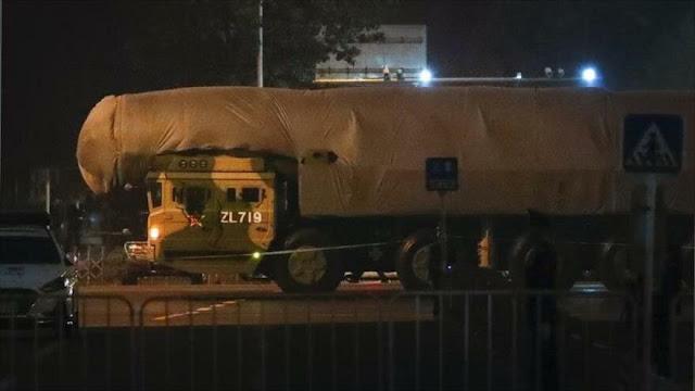 China exhibirá misil nuclear que llegaría a EEUU en 30 minutos