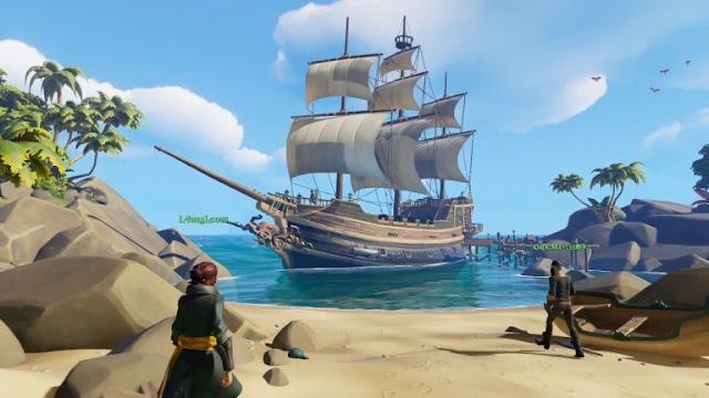 تأكيد تواجد نظام اللعب المشترك في لعبة Sea of Thieves بين جهاز Xbox One و PC