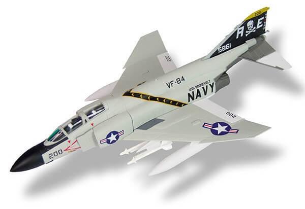 aviones de combate F-4J Phantom II