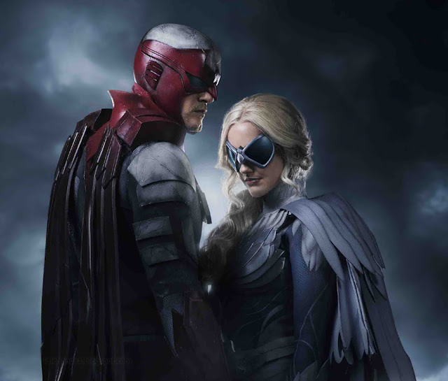 WB TV's Titans Reveals Hawk and Dove