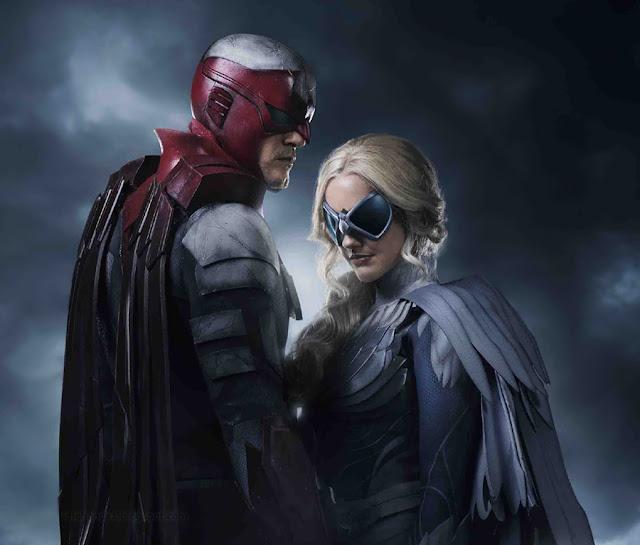 WB TV's Titans Reveals Hawk and Dove