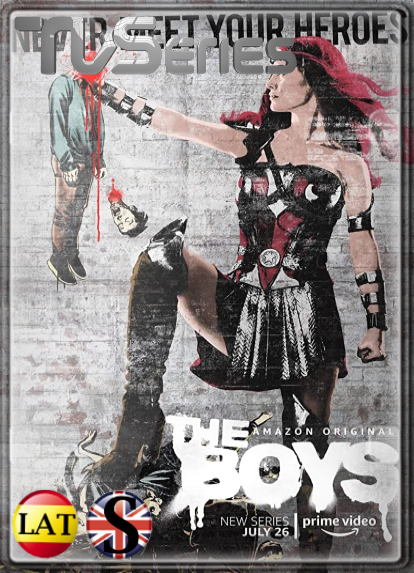 The Boys (Temporada 1) HD 1080P LATINO/INGLES