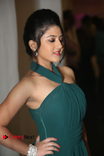 Actress Shriya Sharma Pictures in Long Dress at Nirmala Convent Audio Launch 0019