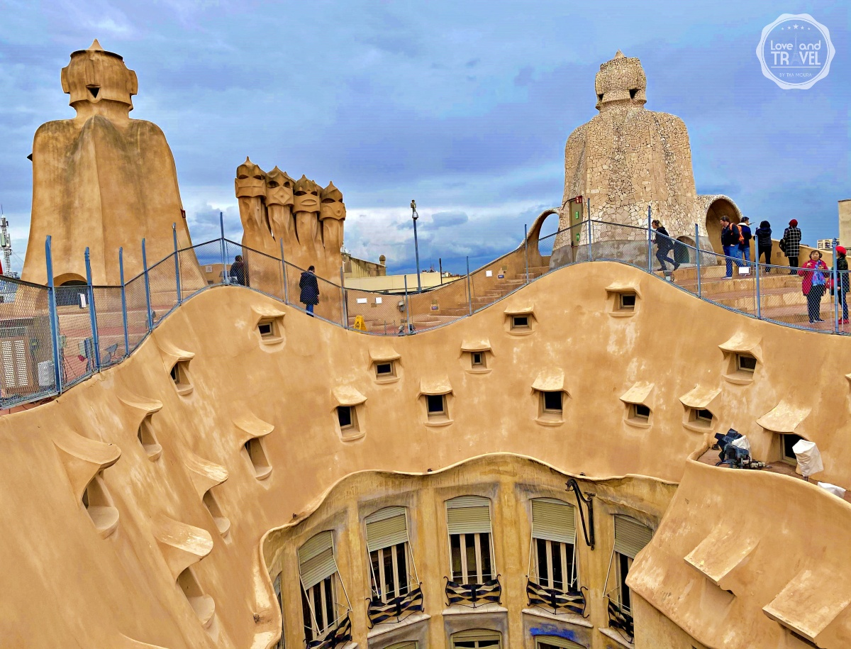 La Pedrera Casa Milá Gaudi