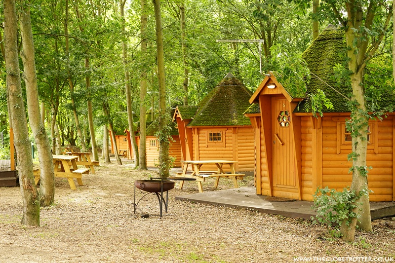 Woodland Cabin at Lee Valley Campsite in Sewardstone