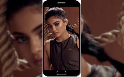 Kylie Jenner Sportwear - Fond d'Écran en QHD pour Mobile