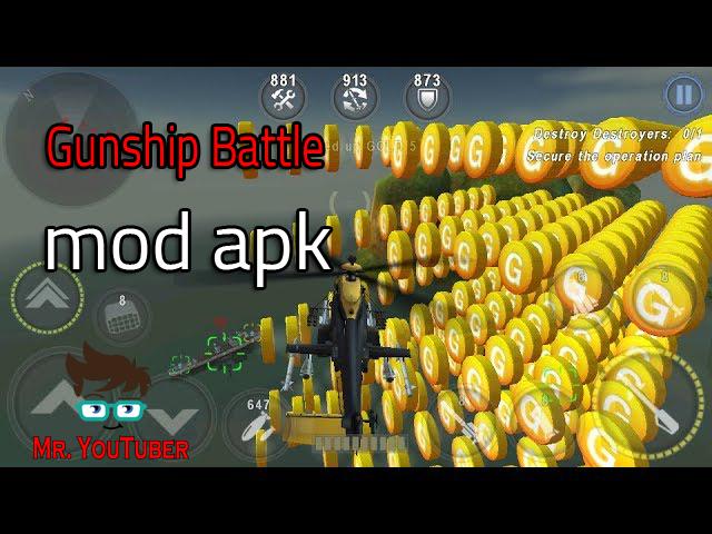 تحميل لعبة gunship battle3d مهكرة احدث اصدار