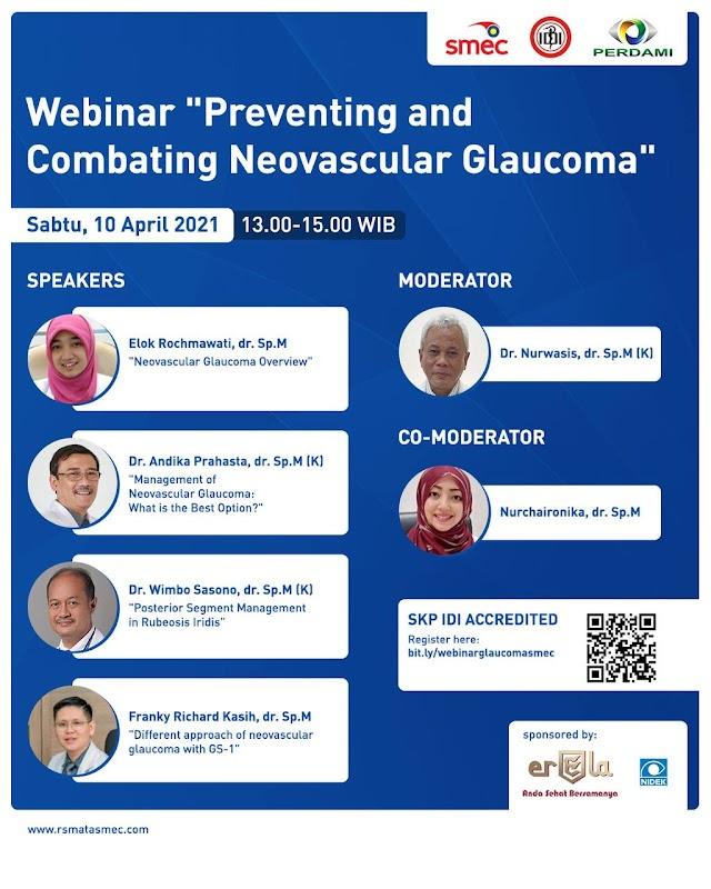 "(GRATIS SKP IDI) Webinar ""Preventing and Combating Neovascular Glaucoma"""