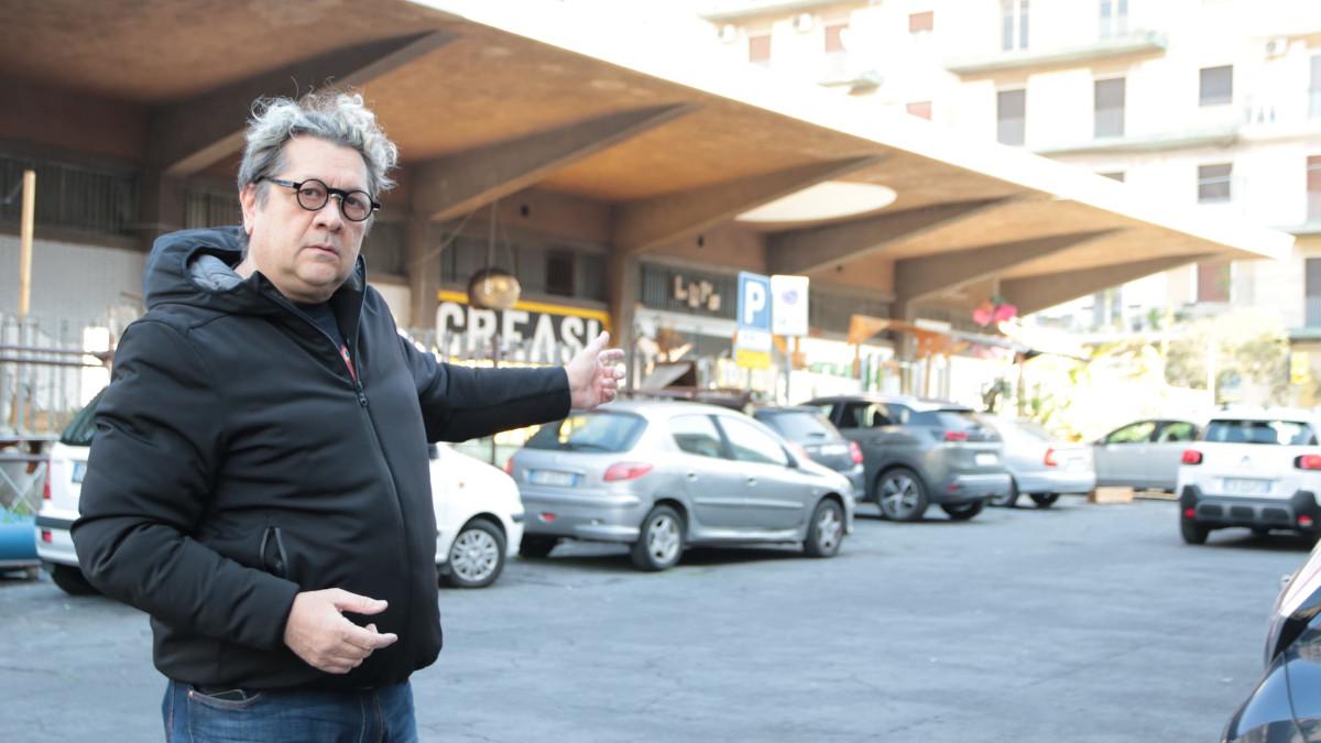 Roberto Tudisco a piazza Lupo