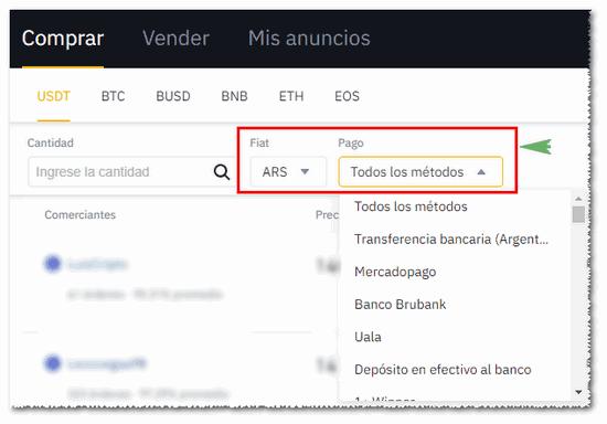 Cómo comprar cripto desde Argentina