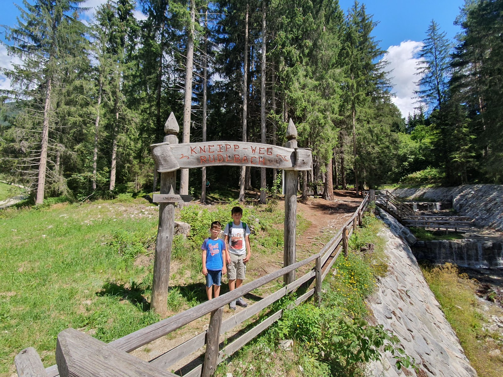 Sognare Di Camminare Scalzi turistidarte: monguelfo-tesido (bz): il percorso kneipp