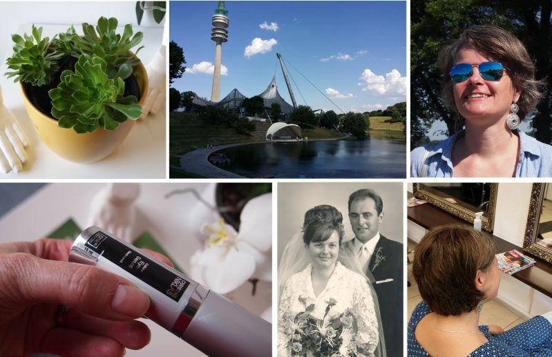 Pflanzen, Augenpflege, Olympia Park, Goldene Hochzeit, neue Frisur