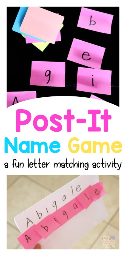 name games for kids